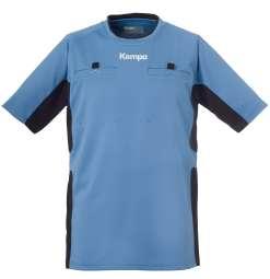 Referee Shirt fairblau/schwarz