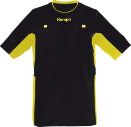 Referee Shirt schwarz/gelb