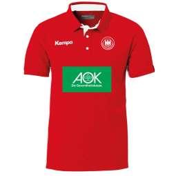 Kempa Prime Polo Shirt in 3 Farben inklusive Sponsoren Männer