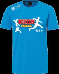 RUHR-POKAL T-Shirt kempablau
