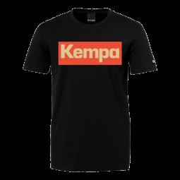 Kempa T-Shirt - schwarz/rot/gold -